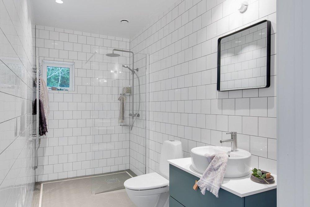 Modern Scandinavian home - bathroom.