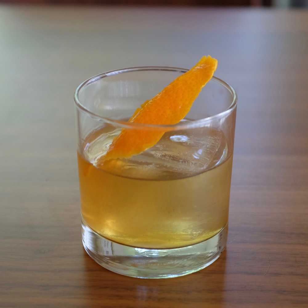 The Texas Old-Fashioned.