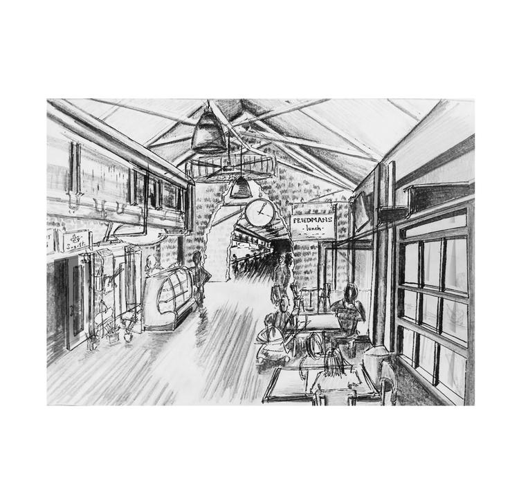 Preferred method + moxie — Hand Sketching & Rendering DQ17