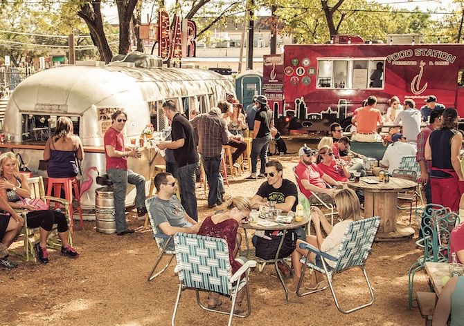 Truck Yard: a food truck and live music heaven, Dallas, TX