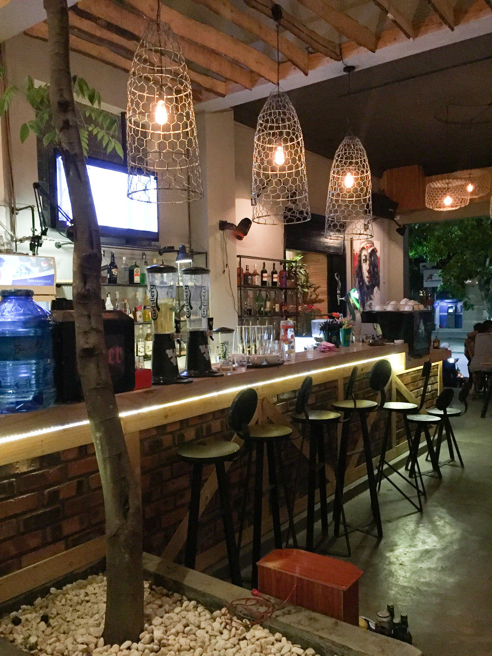 Trendy bars are aplenty in Hue