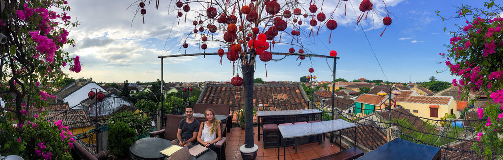 Rooftop paradise at The Chef