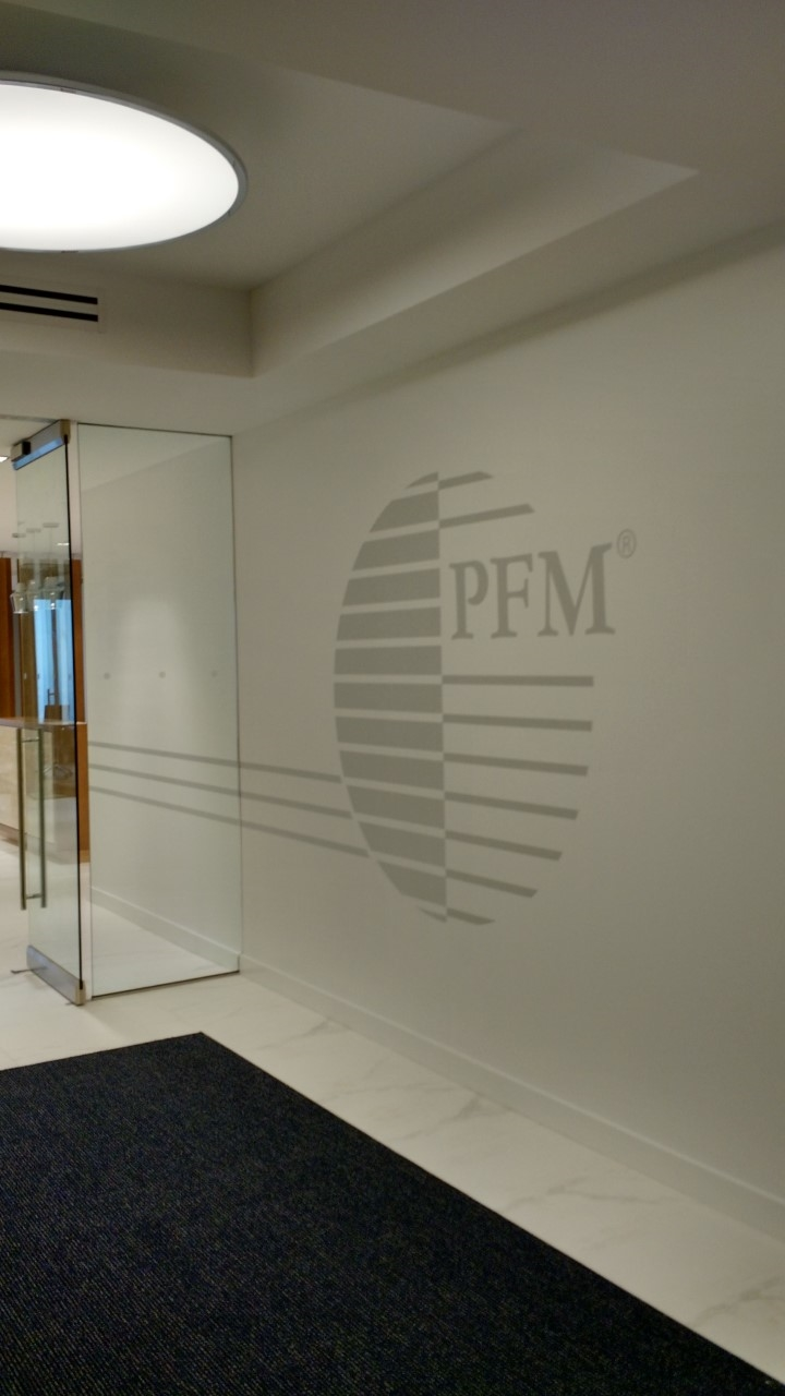 The PFM Group    Philadelphia, PA   ©2016 PMDI Signs