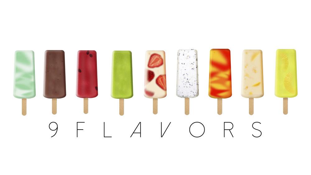 9 Flavors