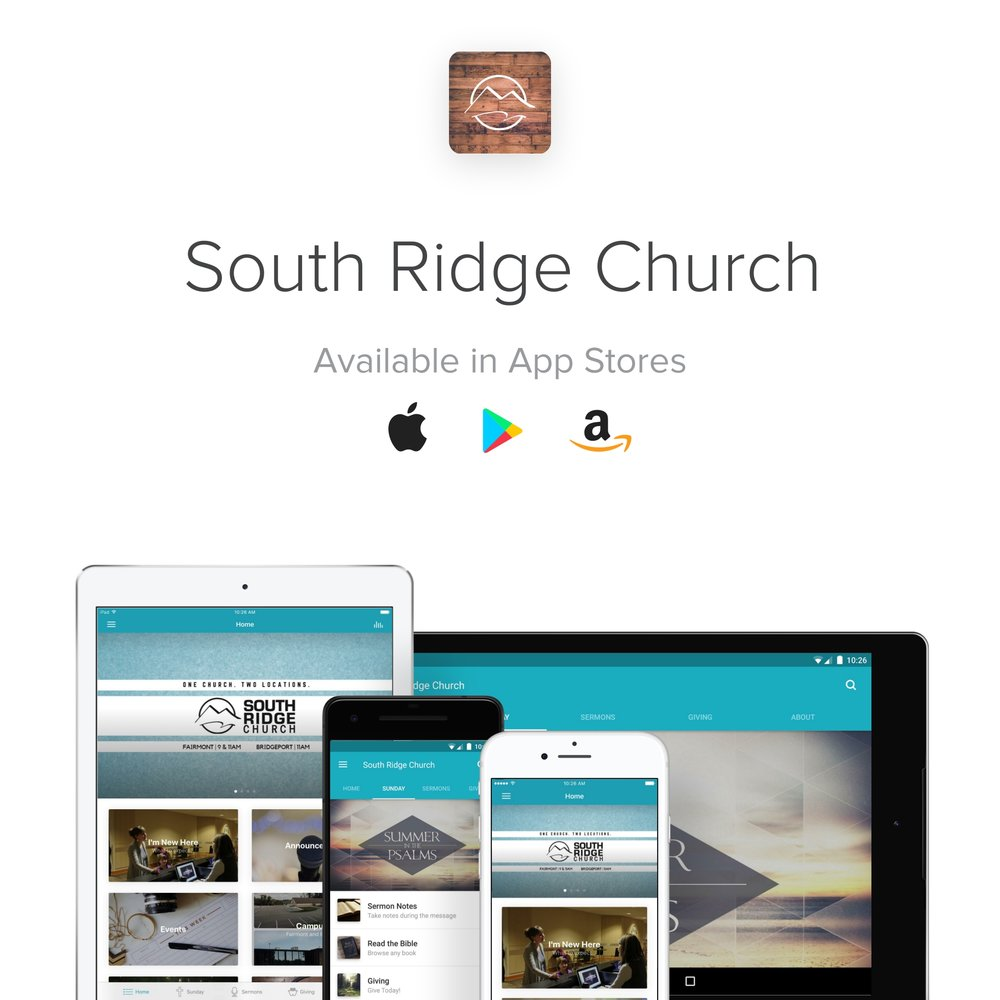 Check out the new South Ridge Church app
