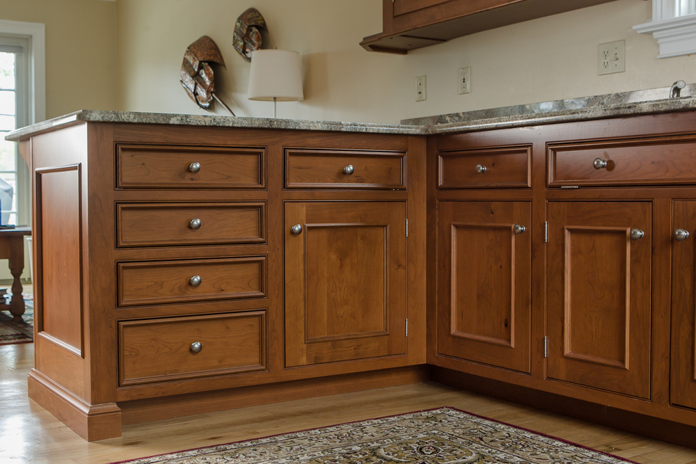 Inset Cherry Custom Cabinets