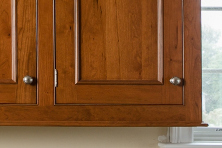 Traditional Inset Cherry Kitchen Cabinets