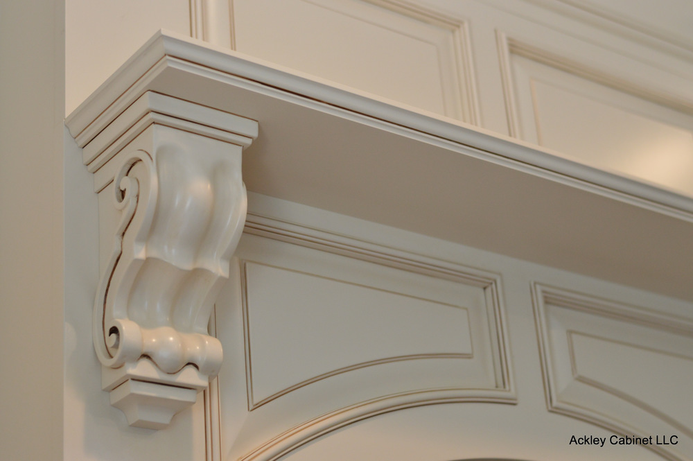 Traditional Kitchen Hood Corbel Detail