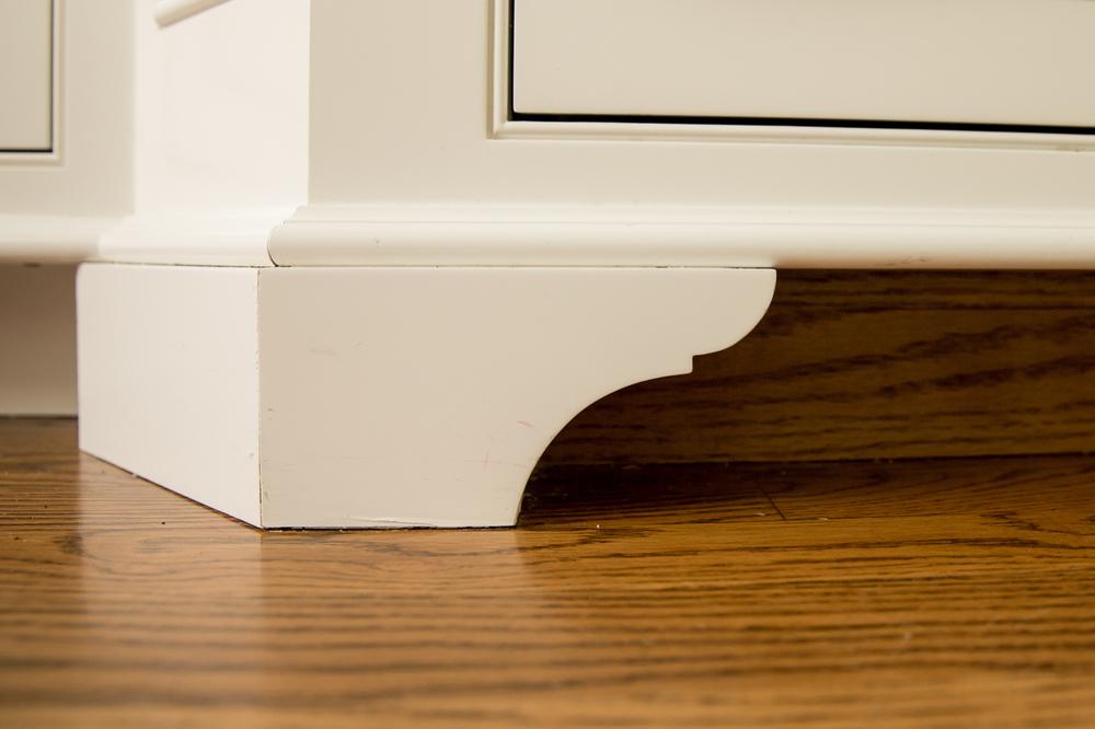 Kitchen design in wilton ct custom white cabinets - Kitchen cabinet feet ...