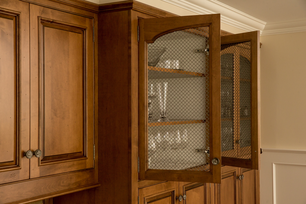 Wire Mesh Kitchen Cabinet Glass Door
