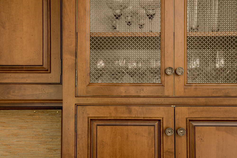 nutmeg Stained Maple Kitchen Cabinet Door