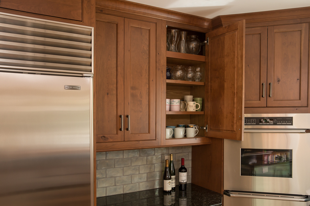 Inset Cherry Kitchen Cabinets