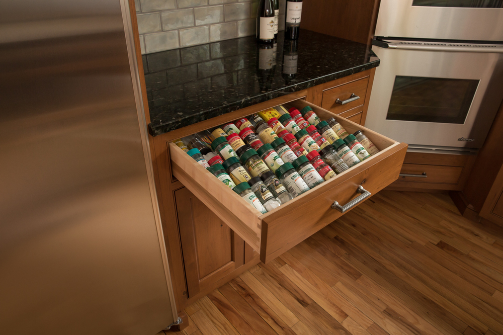 Kitchen Drawer Spice Organizer
