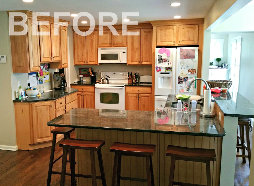 DARIEN CT - KITCHEN CABINET REMODEL (BEFORE) | Ackley Cabinet LLC