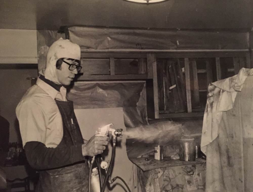 Greg Ackley - Kitchen Cabinet Spraying 1985