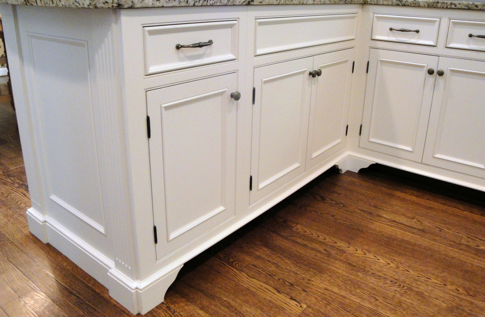Finishing off the Edges — Ackley Cabinet LLC