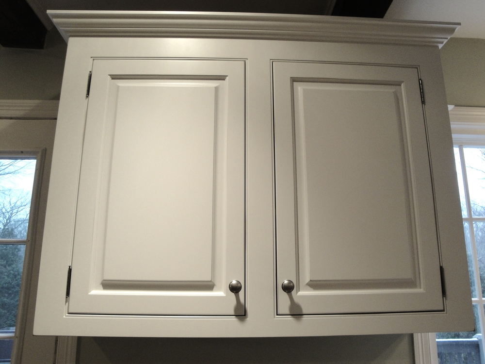 White Cherry Raised Panel Inset Cabinet Doors