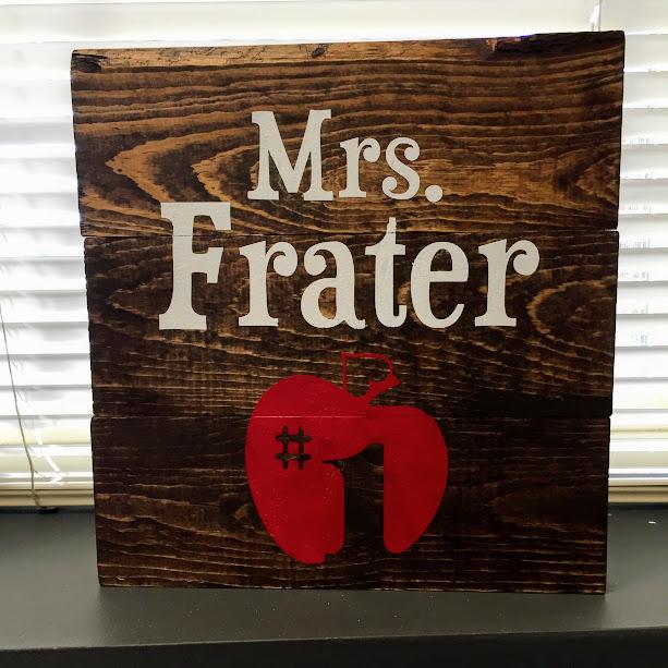 Teacher Sign (EASY)