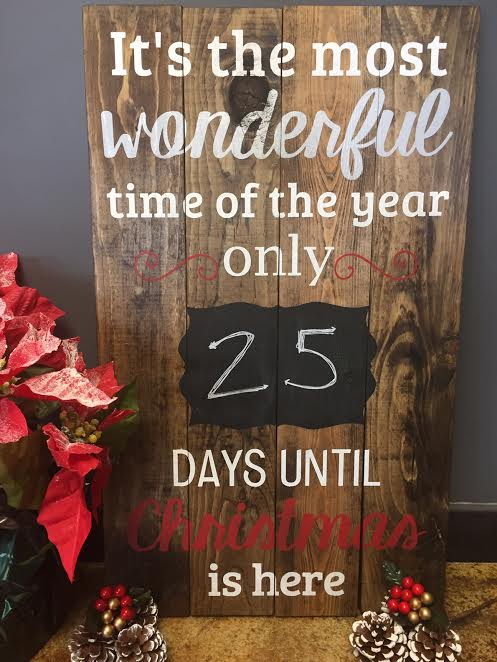Christmas Countdown (CHALLENGING)