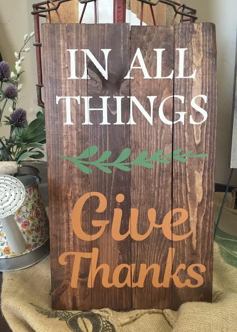 Give Thanks (MODERATE)