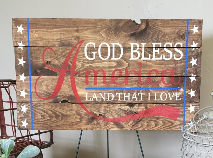 God Bless America (MODERATE)