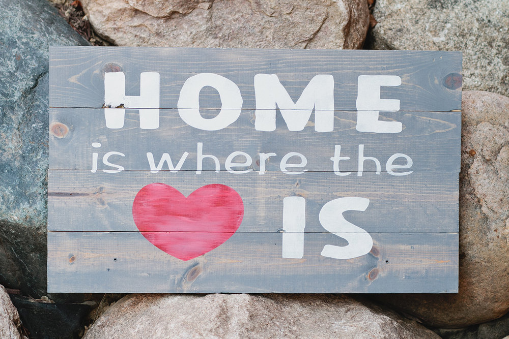HOME is where the heart is (EASY)