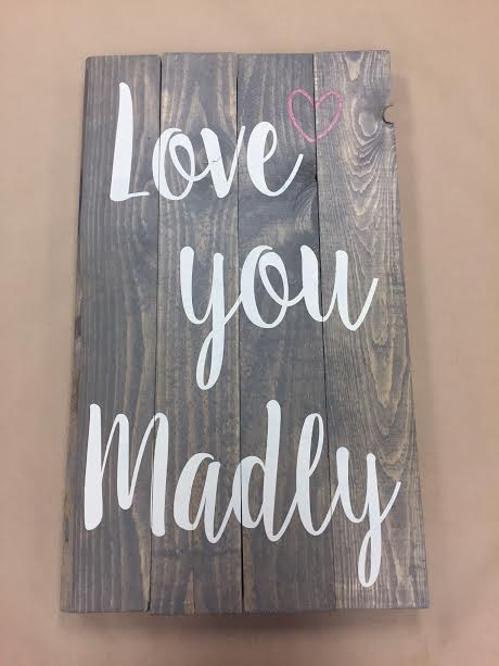 Love you madly (EASY)