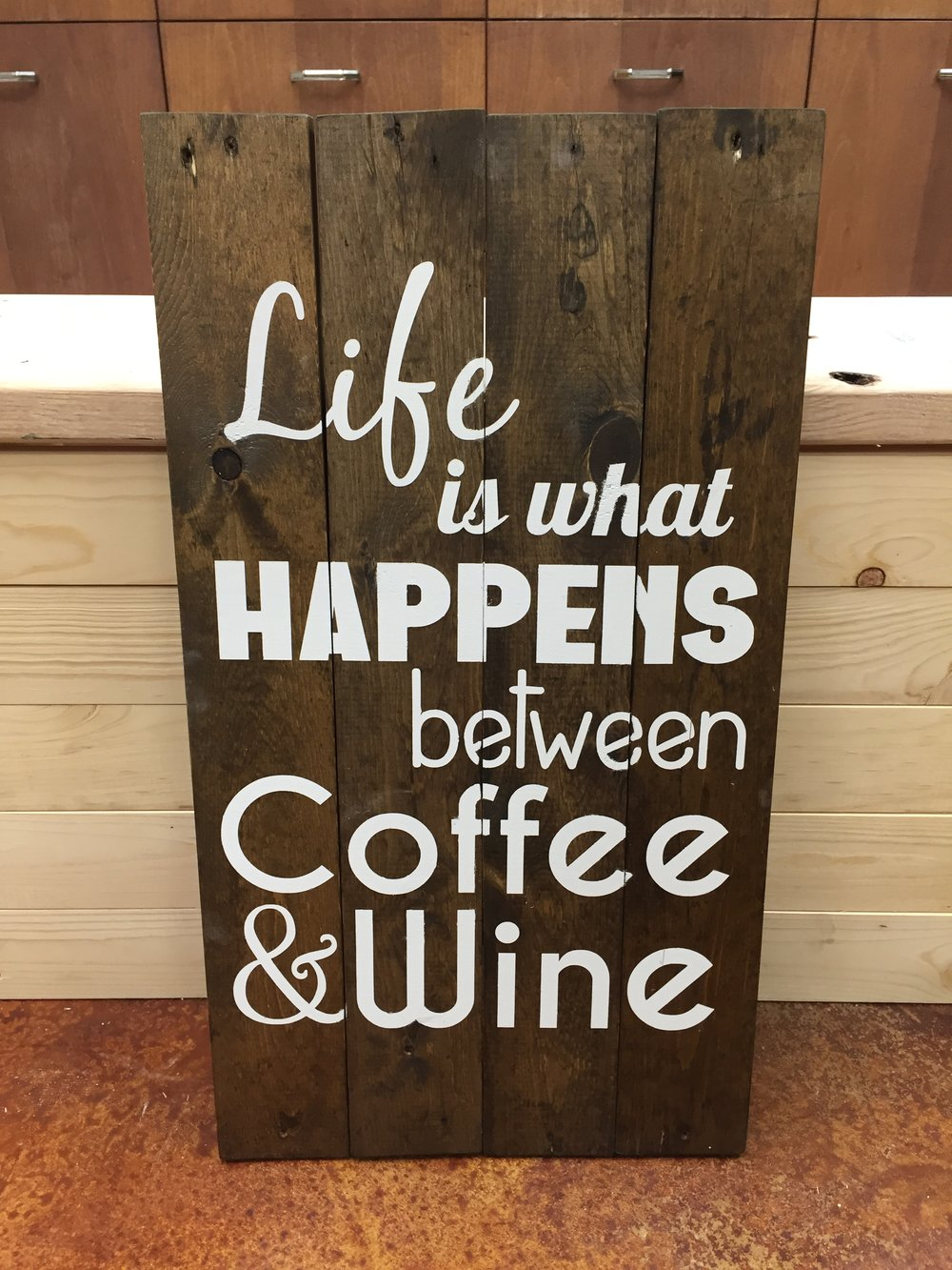 Coffee & Wine (MODERATE)