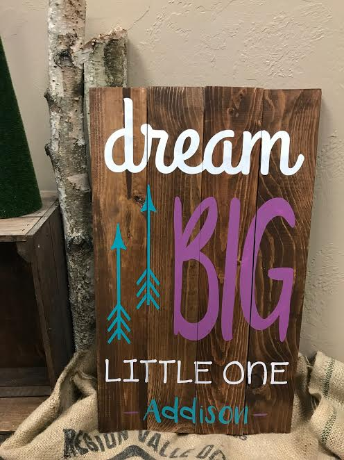 dream BIG little one (MODERATE)