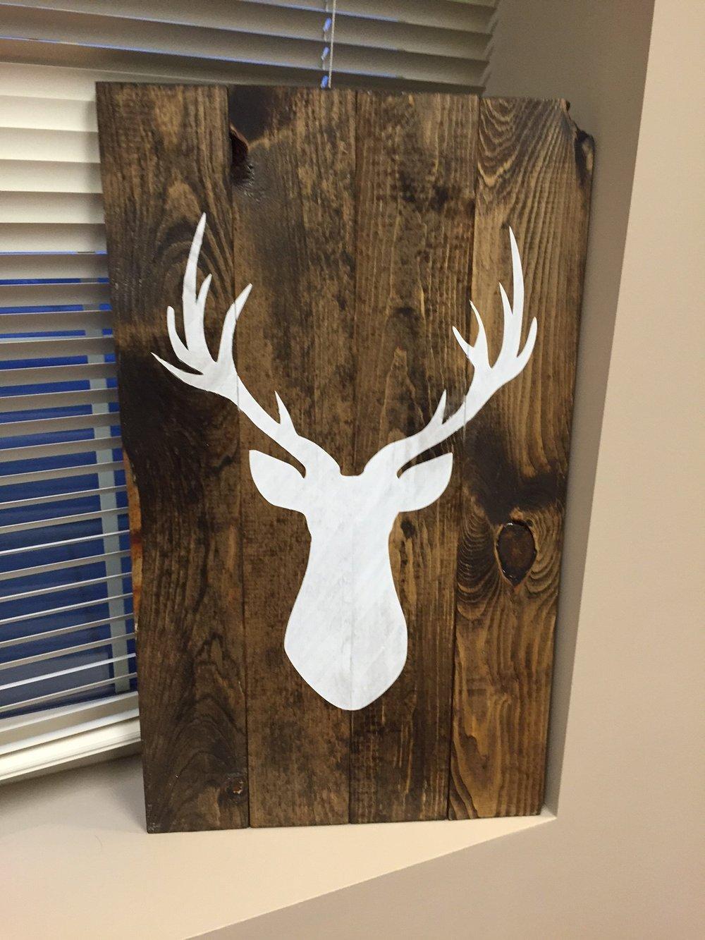 Deer Silhouette (EASY)