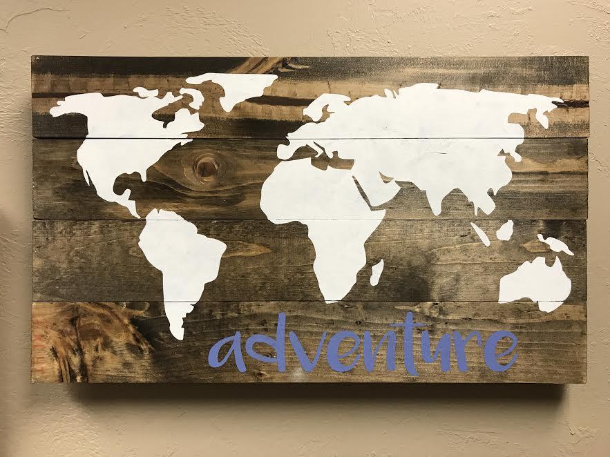 world map- adventure (EASY)
