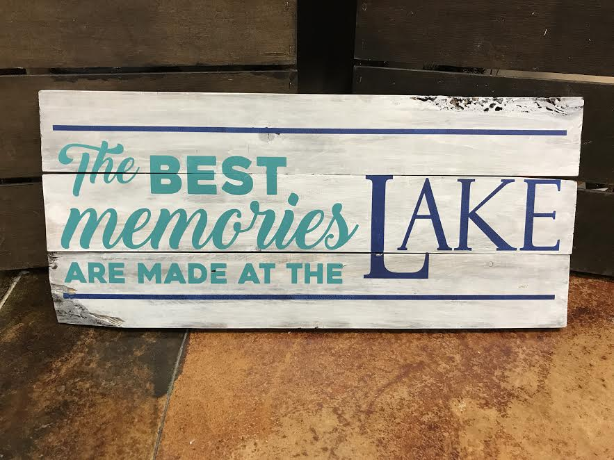 memories at the LAKE or CABIN (EASY)