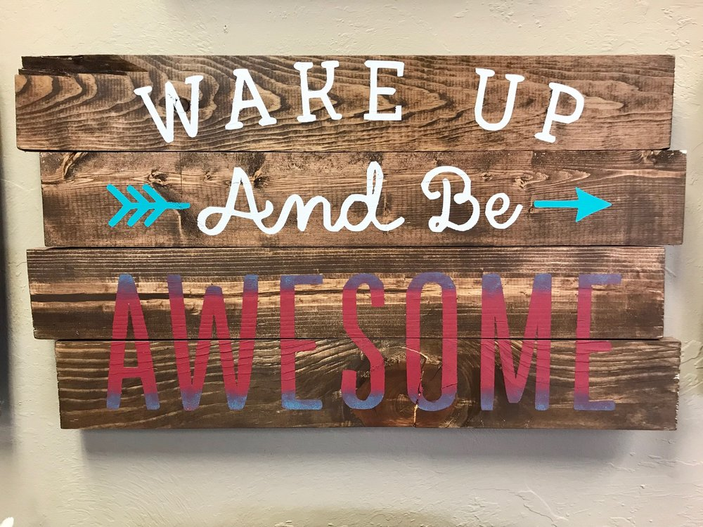 wake up and be awesome (EASY)