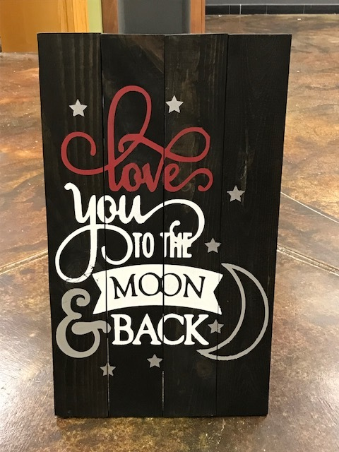 love you to the moon (MODERATE)