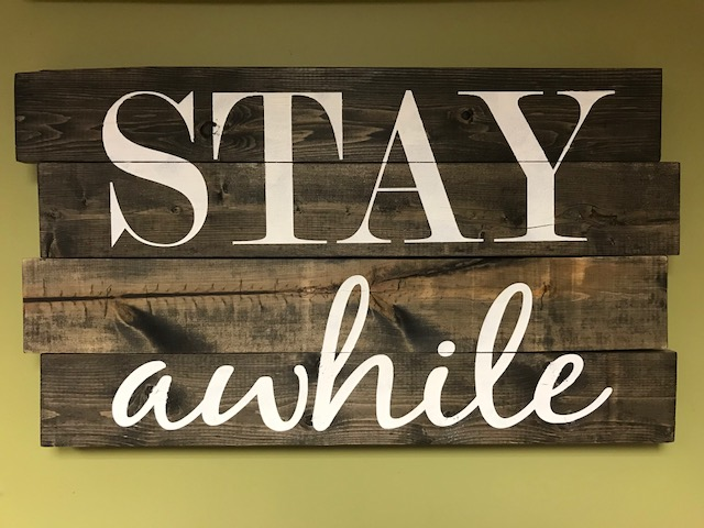 STAY awhile (EASY)