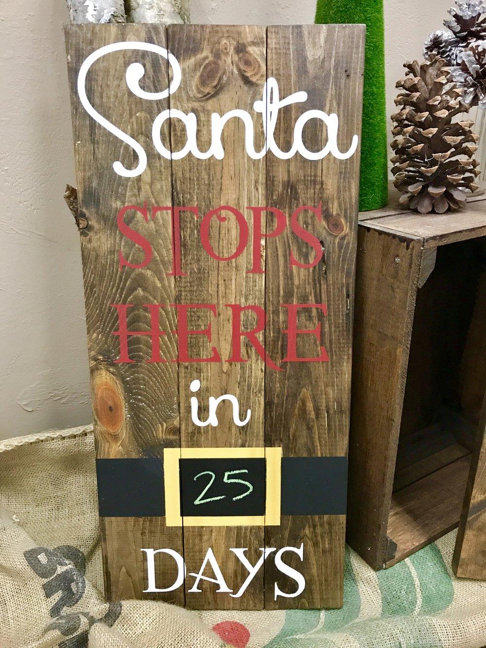 Santa stops HERE (EASY)