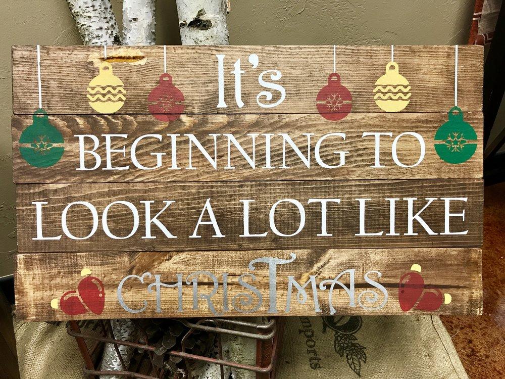 beg. to look like Christmas (CHALLENGING)