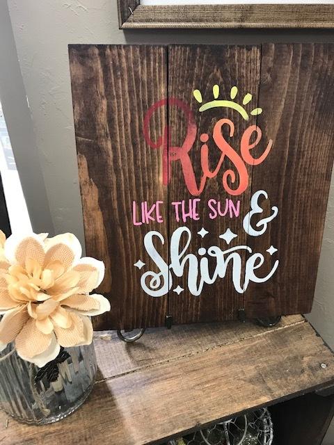 Rise like the Sun (EASY)