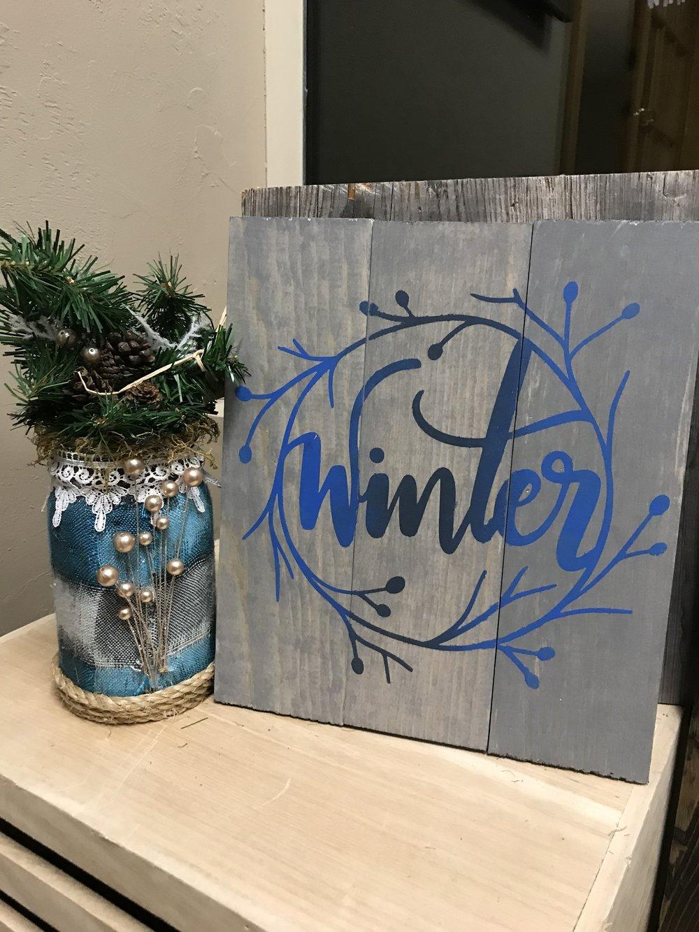 Winter Wreath (EASY)