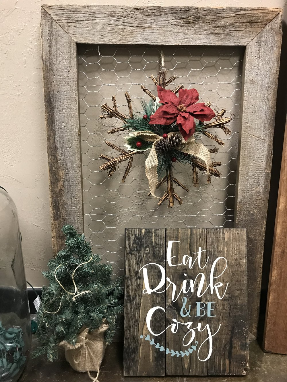 Eat, Drink & be Cozy (EASY)