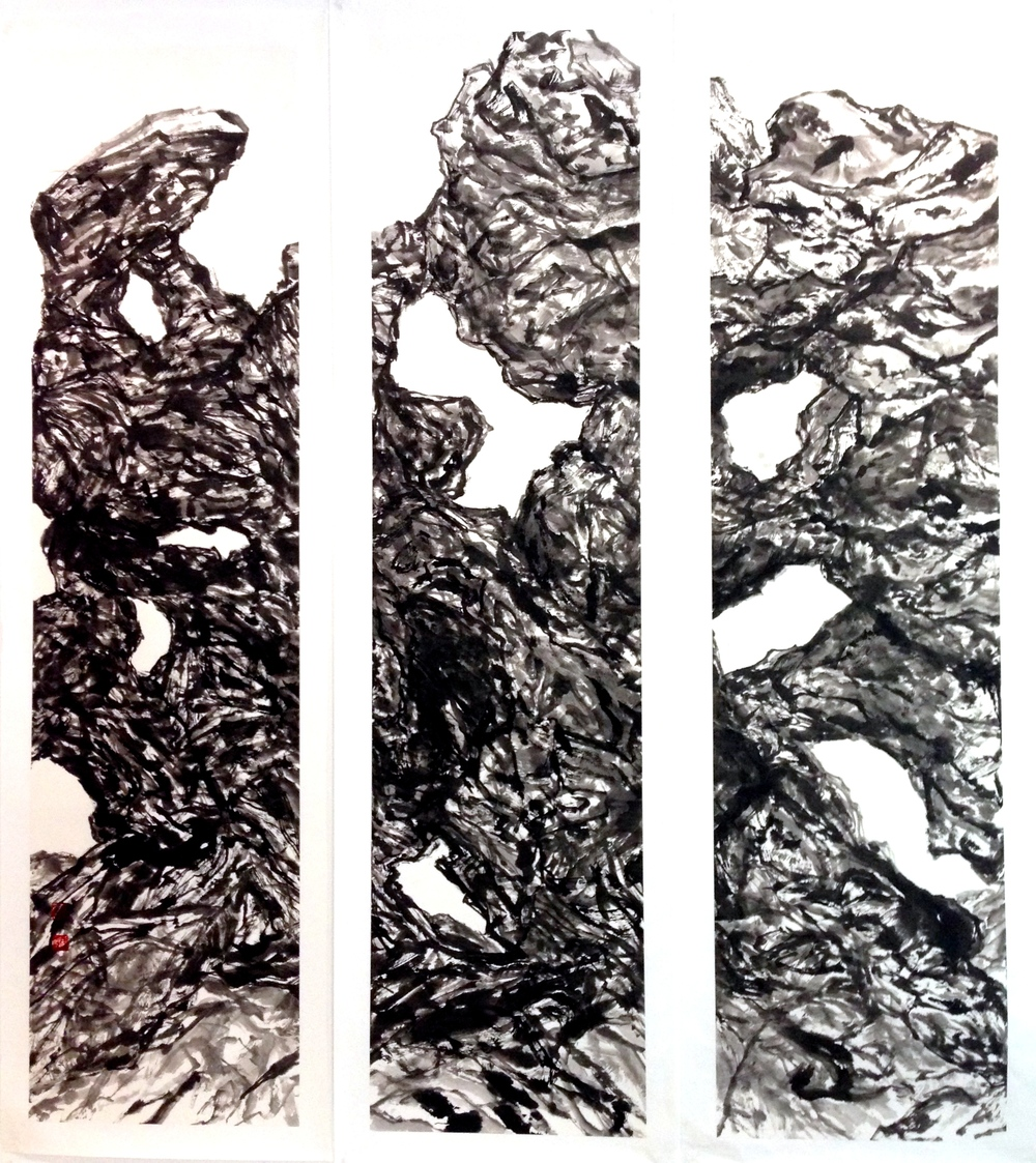 144cm x 128cm 2014   Chinese Ink on Rice Paper