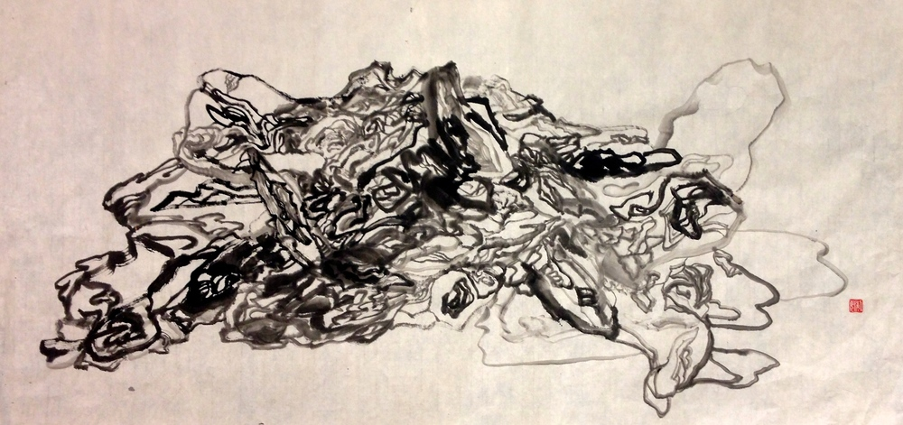 2014 71cm x 138cm Chinese Ink on Rice Paper
