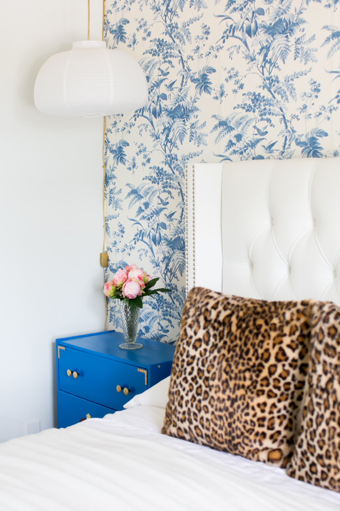 I came across  Katherine Voss small apartment on The Everyday Girl . Here bedroom furniture is the perfect example of investing in versatile pieces. She could definitely transition her bed and dresser to her future home, and it would look GREAT!