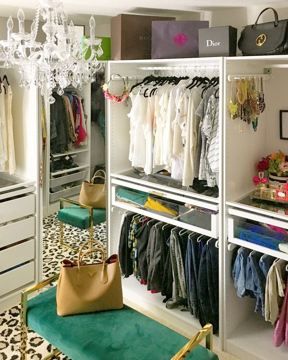 To Project Ultimate Room Glam Closet A Guide Vogue The Reveal — sChrtQd