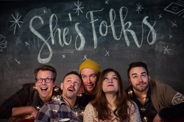 She's Folks Holiday Hootenanny - Join Betsy and the Boys at Hey Nonny! for a one-night-only She's Folks Holiday Hootenanny. We've got new tunes, new stories, old favorites and all the boot-scootin' holiday cheer!December 11, 7:30pm10 South Vail AvenueArlington Heights, IL