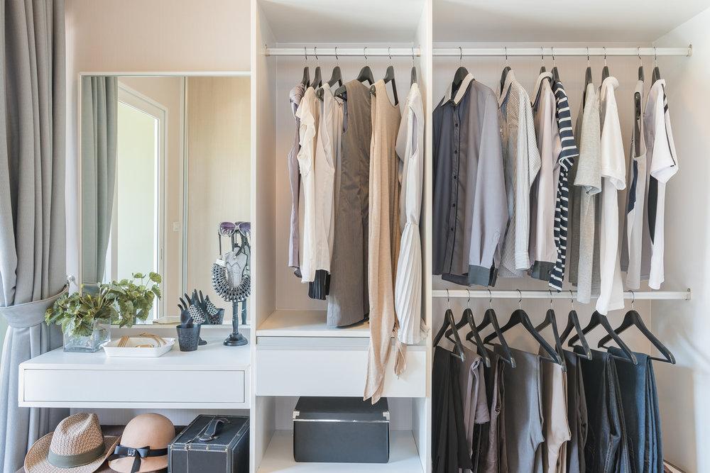 Nice Organized Closet