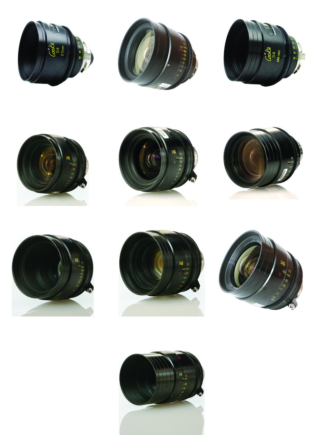 COOKE S4/I (Set of 10)