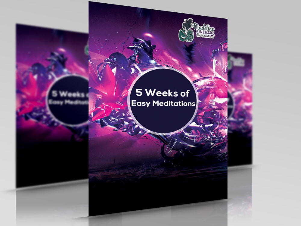 Easy Meditations Bundle includes all 5 meditations PLUS the full and updated Playsheet