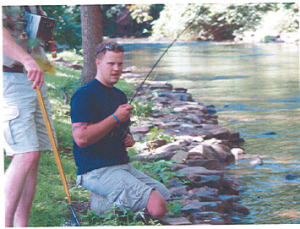 "The photo above was sent to us from Project Healing Waters. The Dutton Foundation has supported some of their annual 2-Fly Fishing events. As indicated on their website ""Project Healing Waters Fly Fishing, Inc. is dedicated to the physical and emotional rehabilitation of disabled active military service personnel and veterans through fly fishing and fly tying education and outings"