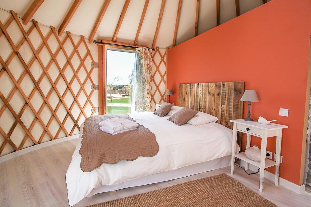 Yurt em Portugal